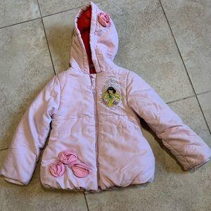 Disney's Princess Puffy Winter Jacket